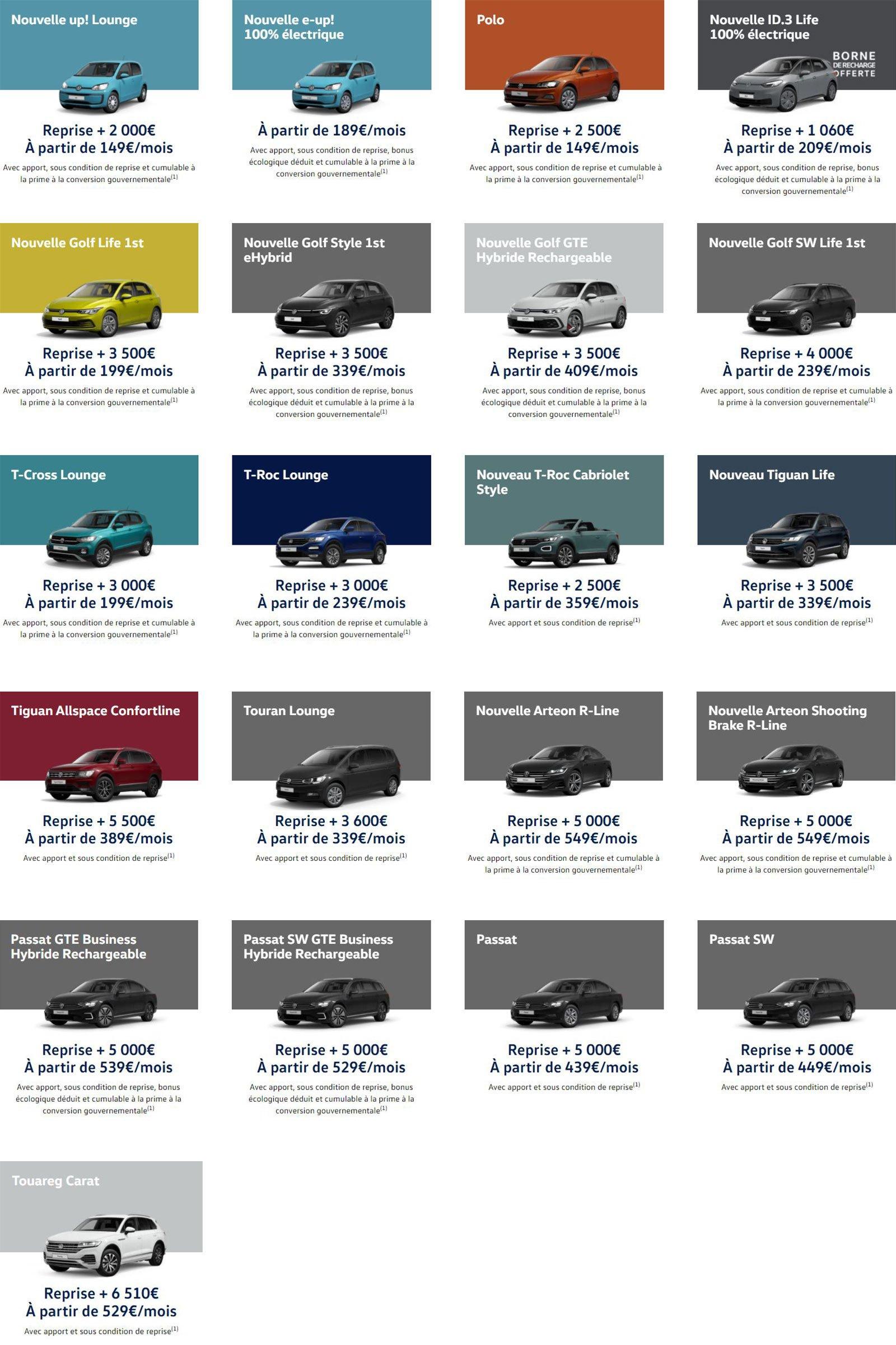 les instants Volkswagen janvier 2021