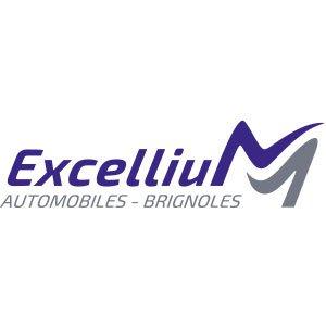Logos groupe Excellium automobile à Brignoles
